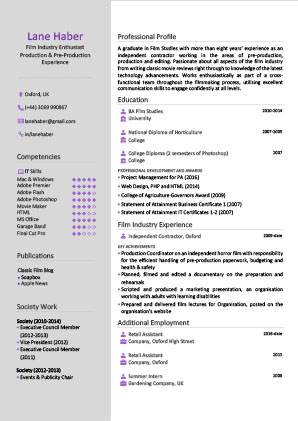 James Innes Group - The CV Centre - New Zealand (NZ) - CV Resume Example 3
